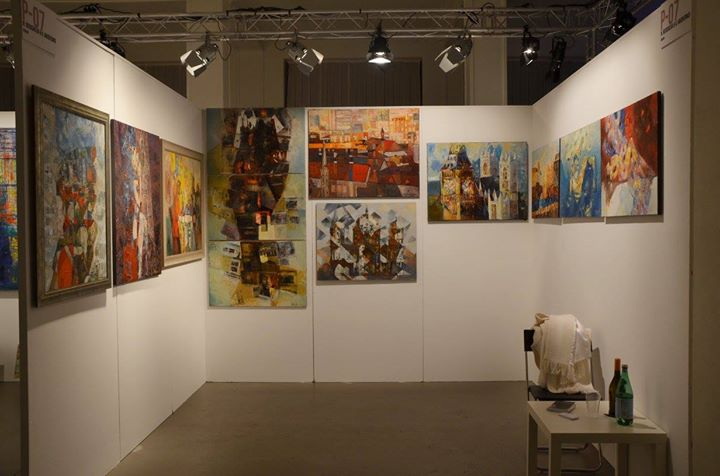 Art fair Leipzig , Germany 2015