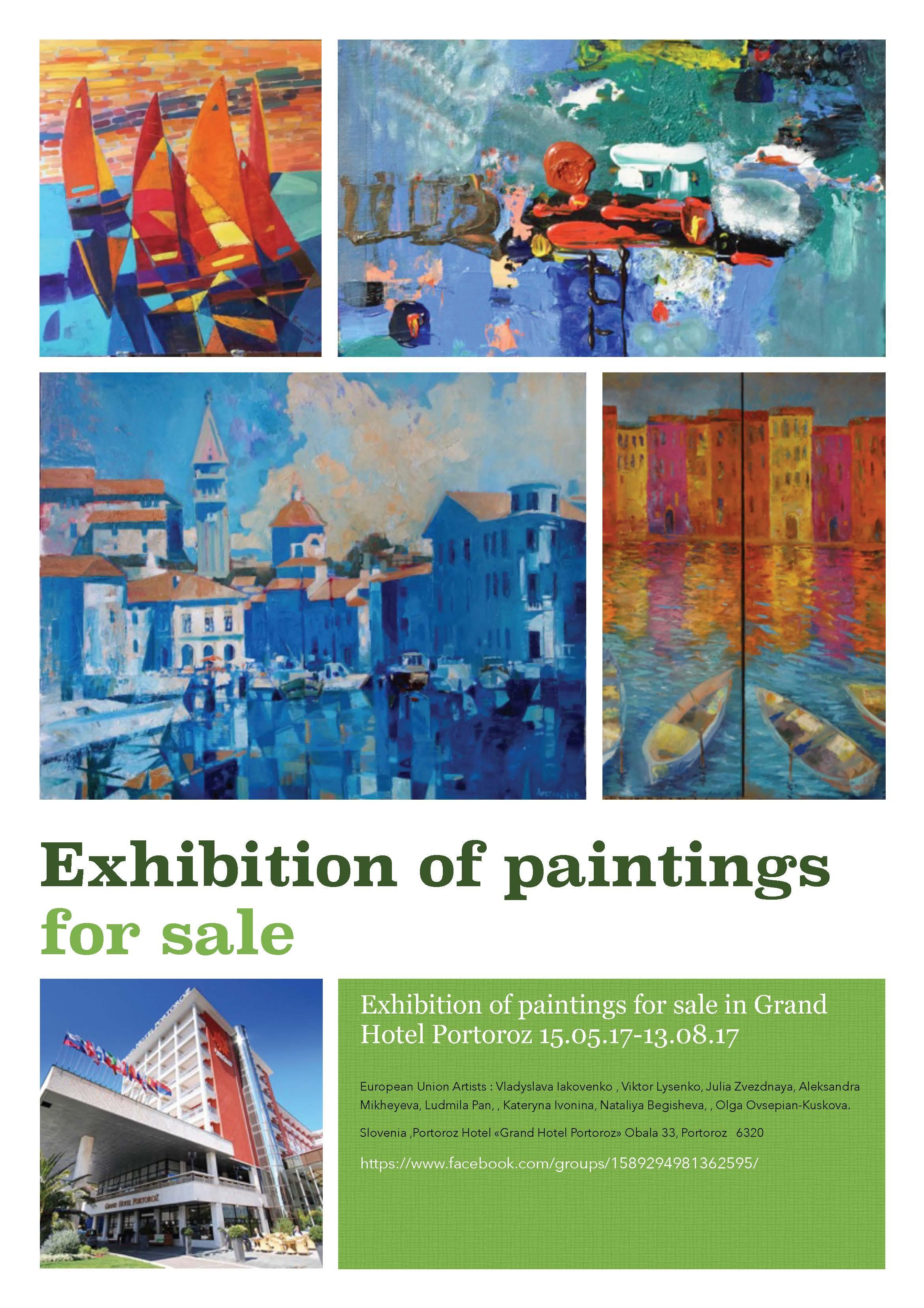 exhibition in Slovenia, Portoroz