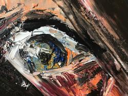 Terror, 50x40, oil, canvas