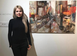 Solo exhibition in Magdeburg , Germany. Farba Ars Gallery 1.11.2019-24.11.2019. MEGAPOLIS.