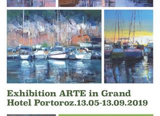 Exhibition in Grand Hotel Portoroz 2019.