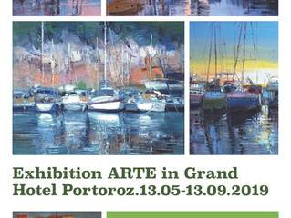 Exhibition in Grand Hotel Portoroz 2019.