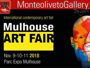 Art fair Mulhouse 9-10-11 Nov. Parc Expo Mulhouse . Vladislava Iakovenko in Monteoliveto Gallery