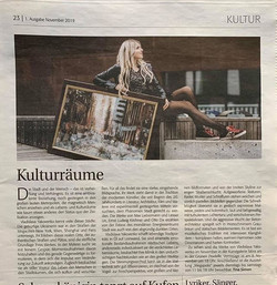 Press about the upcoming exhibition in M