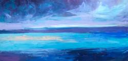 Sea 15, oil,canvas, 2020