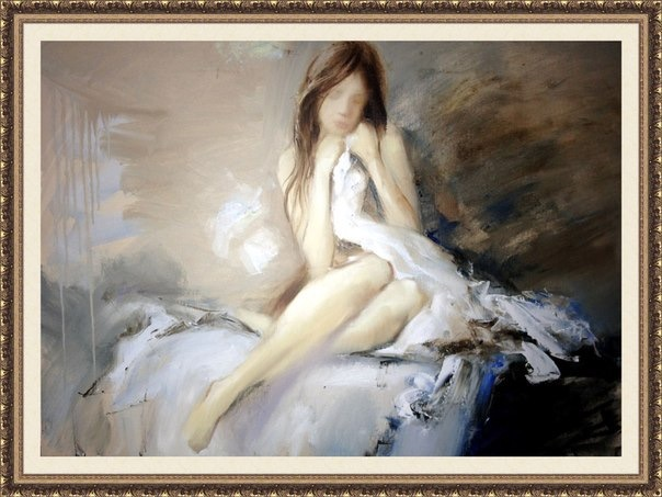 Morning, 70x50, 2013, oil, canvas