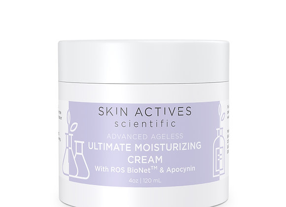Ultimate Moisturizing Cream with ROS BioNet and Apocynin