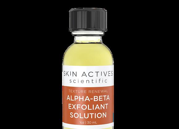 Alpha-Beta Exfoliant Solution