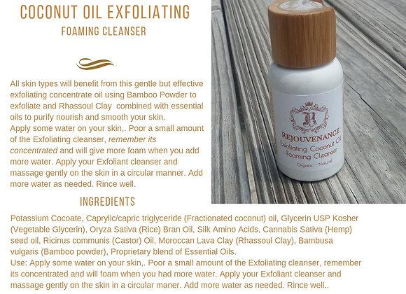 Coconut Oil Exfoliant Cleanser