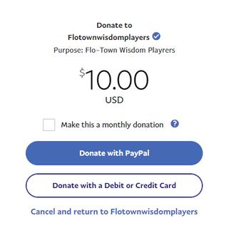 Step 2: Enter custom donation amount