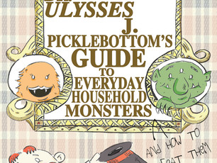 Here's to a great 2018! Dr. Picklebottom book preview.