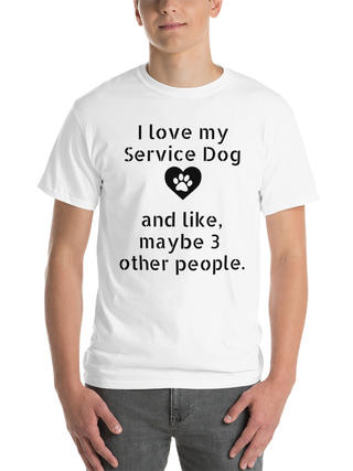 Service Dog Handler  T-Shirts