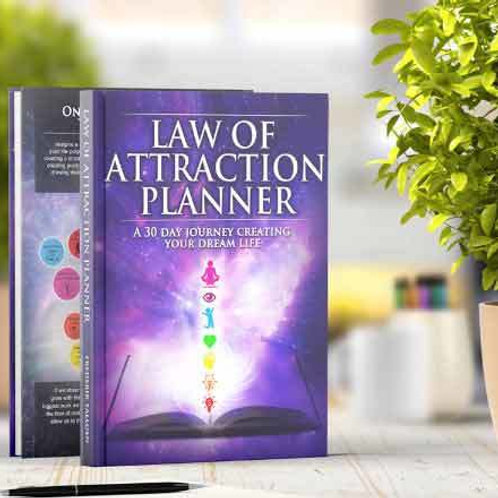 LAW OF ATTRACTION 1-MONTH REUSABLE PLANNER