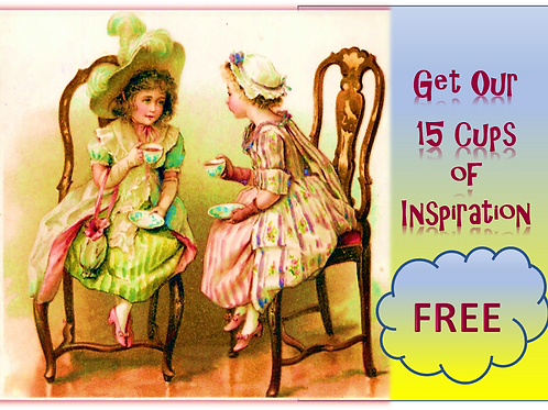15 Cups of Inspiration! Awaken your essential unbound nature.
