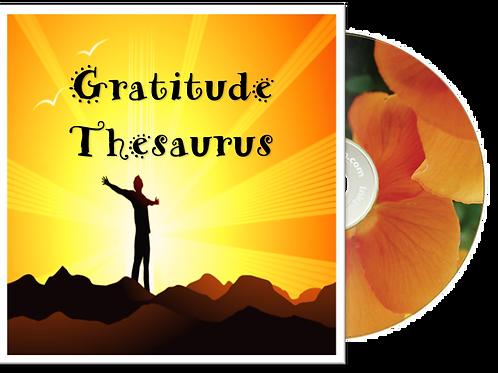 Gratitude Thesaurus