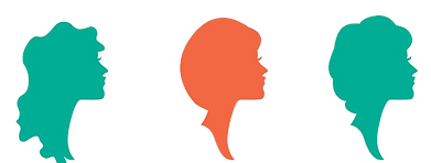 silhouette-woman-with-hairstyles-vectors