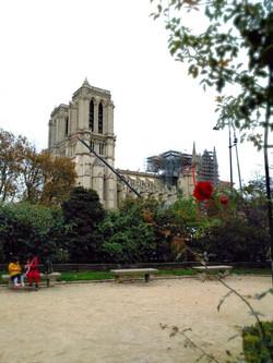 現在のノートルダム大聖堂
