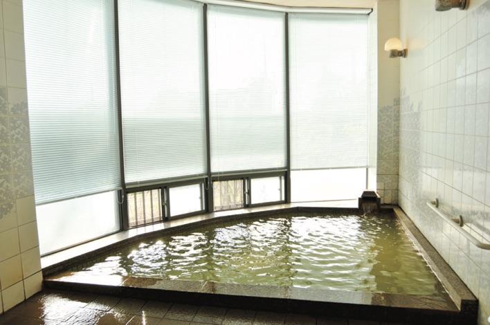 潟山倶楽部の温泉
