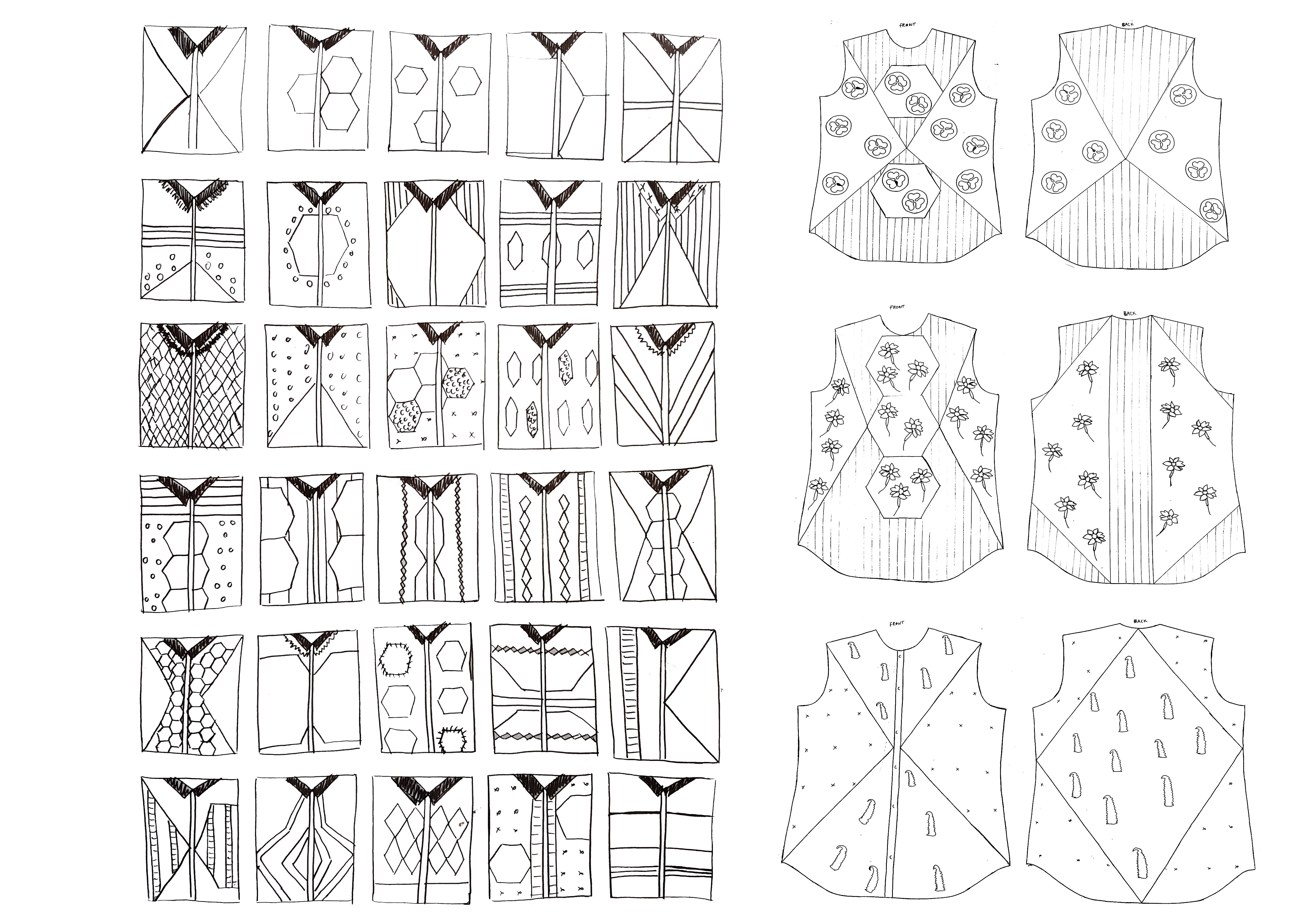 Garment  spec Illustration