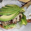 Avocado Ranch Burger