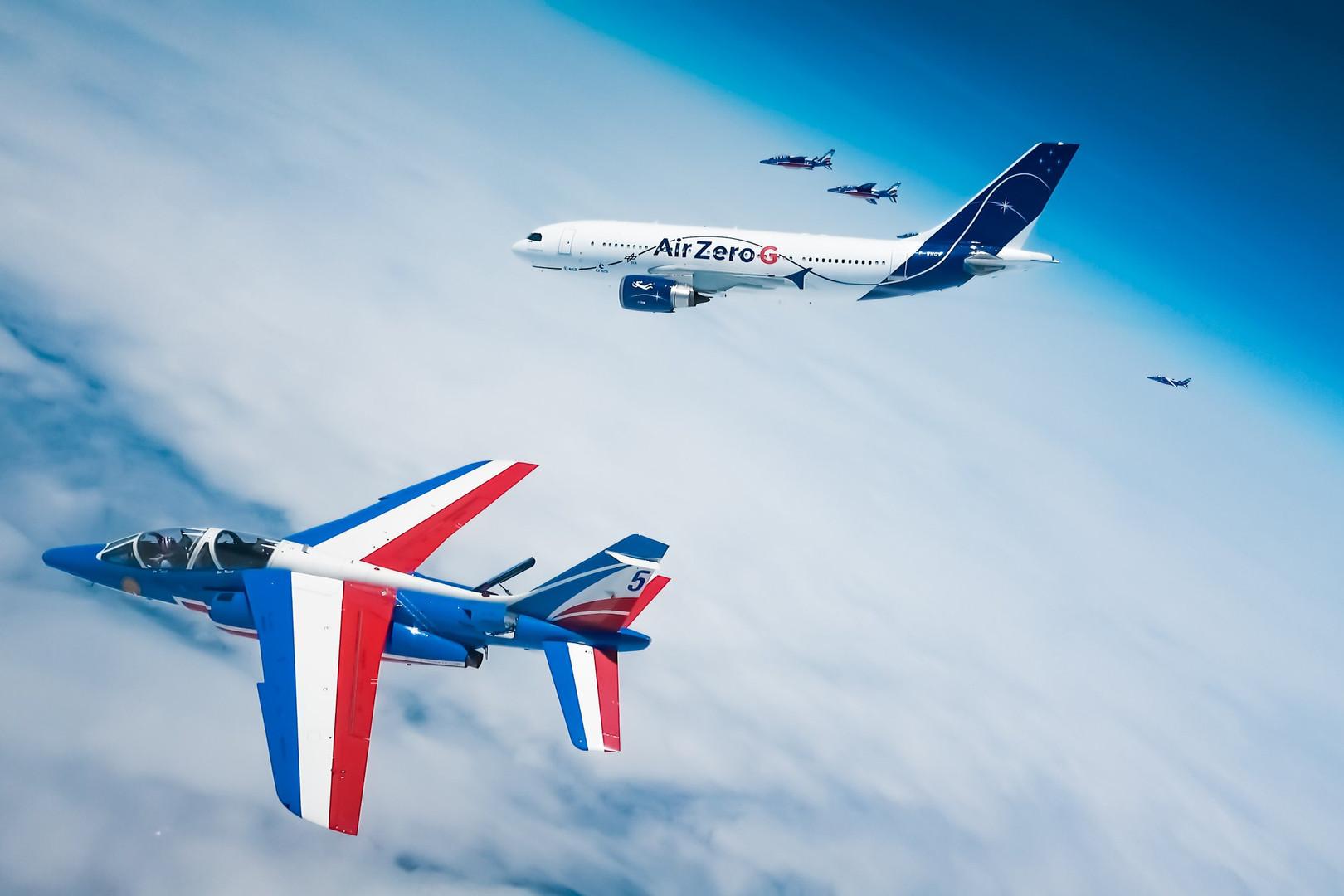 A310 Zero G et Patrouille de France