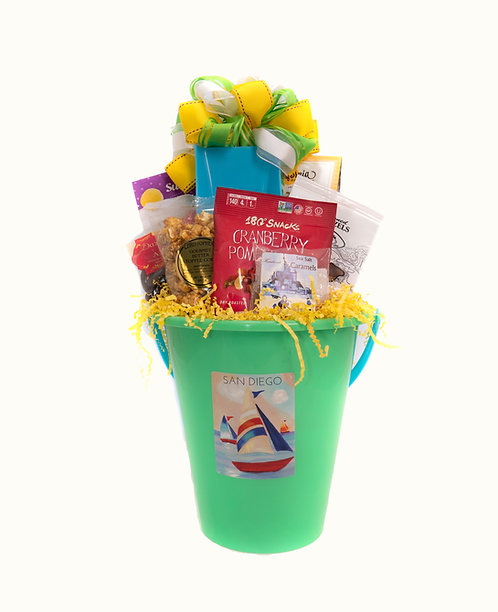Fun at the Beach Gift Bucket