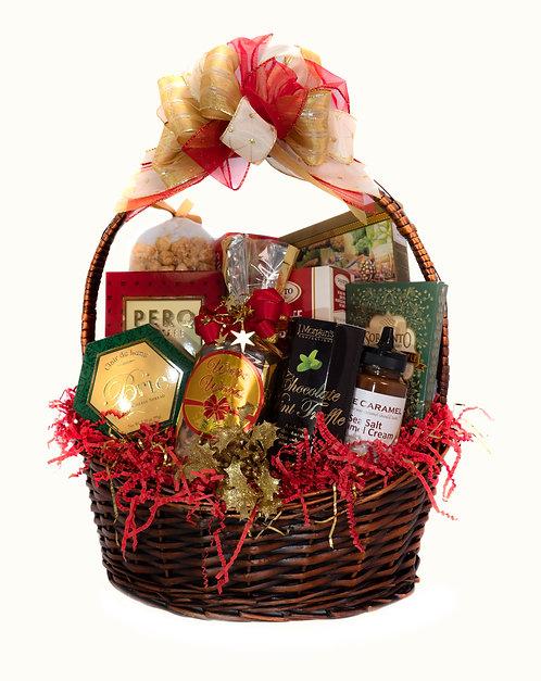 Holiday Delight (Medium) Gift Basket