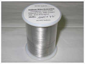 Indium Wire spool