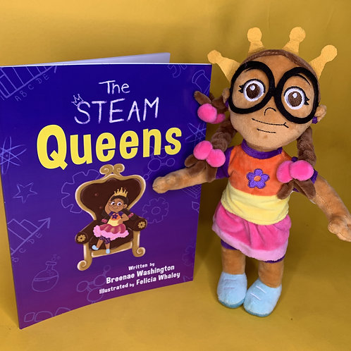 "12"" IVY Plush Doll & Paperback Book"