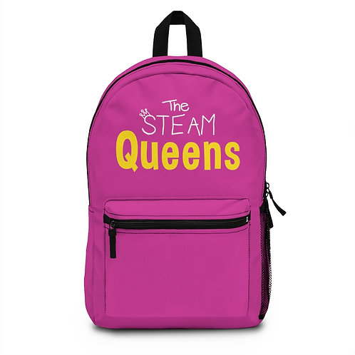 The STEAM Queens Backpack - Pink
