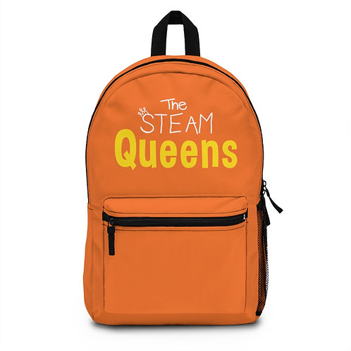 The STEAM Queens Backpack - Orange