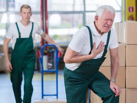 חוויתם התקף לב – מתי תהיו זכאים לפיצוי מהביטוח הלאומי ולהכרה כתאונת עבודה?