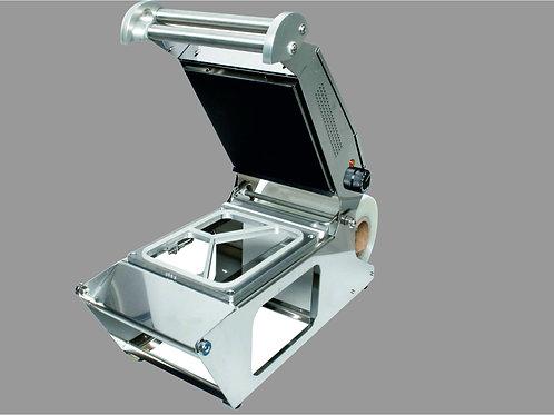 Siegelmaschine, Rahmen, Folie, PP-Tray