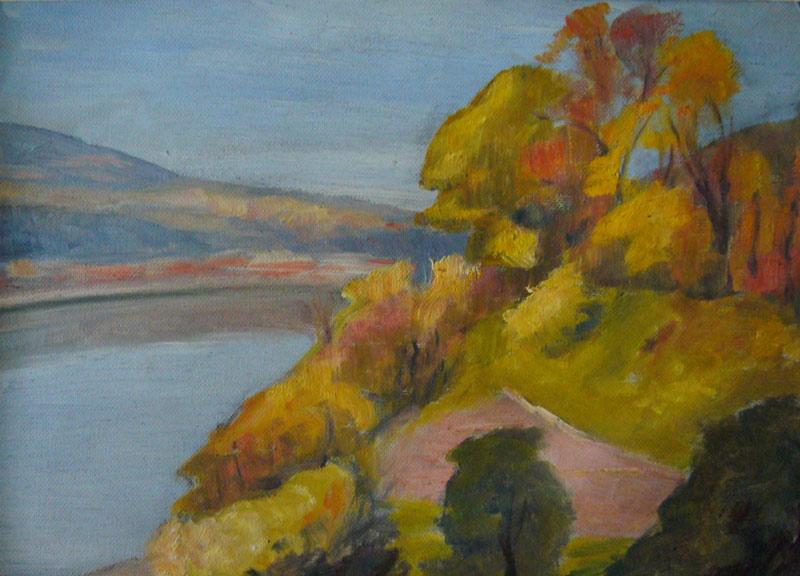 La Saône à l'automne
