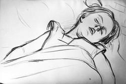 Fillette endormie