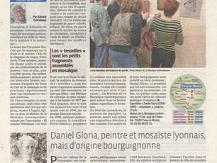 Un bel article sur l'exposition des mosaïques à Paray-le-Monial