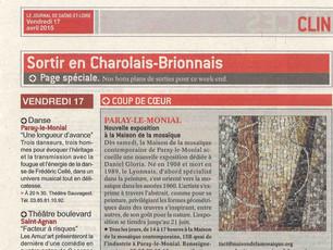 """L'exposition des mosaïques, """"Coup de coeur"""" du Journal de Saône-et-Loire"""