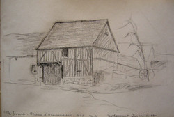Vieille ferme, Plaine d'Armancourt
