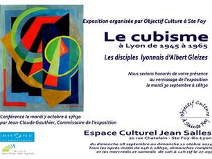 """Exposition """"Le Cubisme à Lyon de 1945 à 1965"""""""