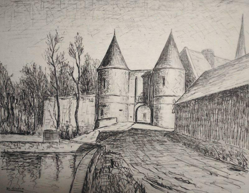Château de Létang à Audigny