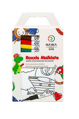 Roxxies Malkiste - das Ausmalset inkl. Stifte