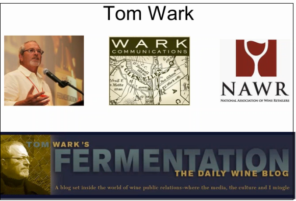 An Interview with Tom Wark of the  National Association of Wine Retailers (NAWR)