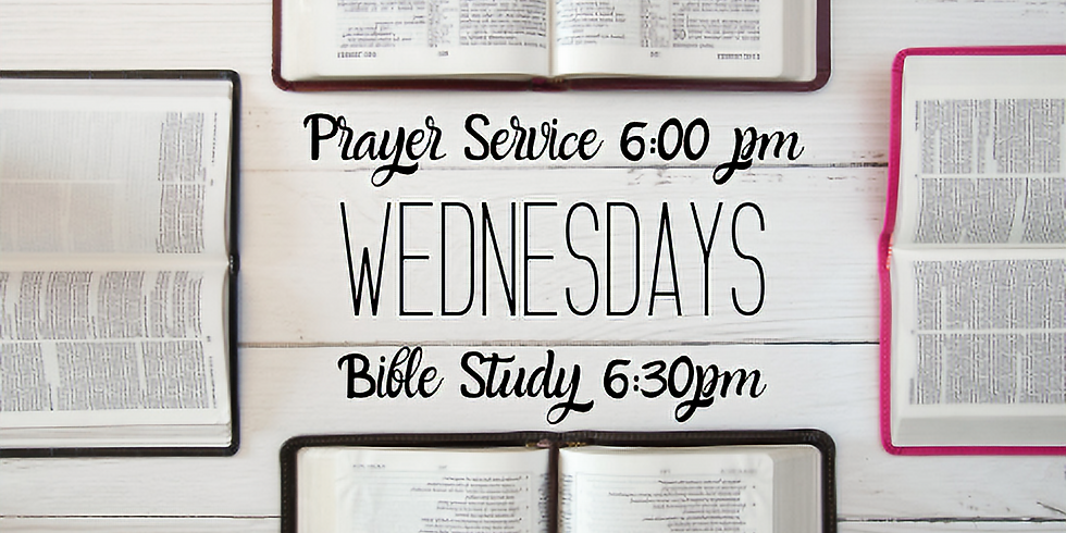 Prayer Service & Bible Study