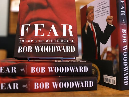 Book Review - 'Fear' (2018) by Bob Woodward