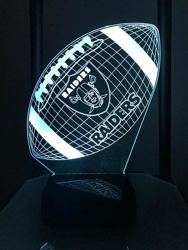 Oakland Raiders football light