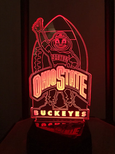 Ohio State Football (Brutus buckeye)