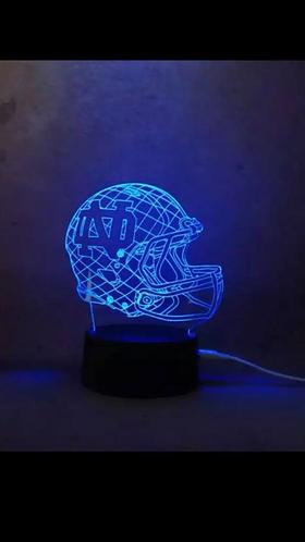 Notre Dame Helmet Light