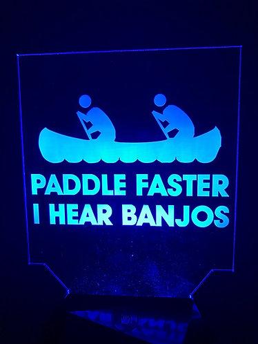 Paddle Faster I Hear Banjo's
