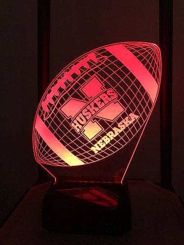 Nebraska Cornhuskers football light