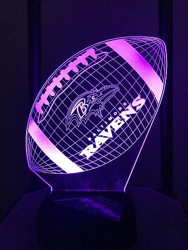Baltimore Ravens football light